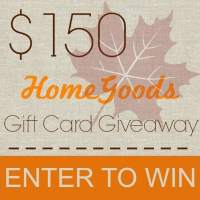 Enter to Win a $150 HomeGoods Gift Card