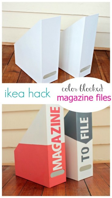 Ikea Hack Magazine Files on View from the Fridge in the Summer Spotlight