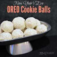 OREO Cookie Balls: Sparkly Treat for New Year's Eve