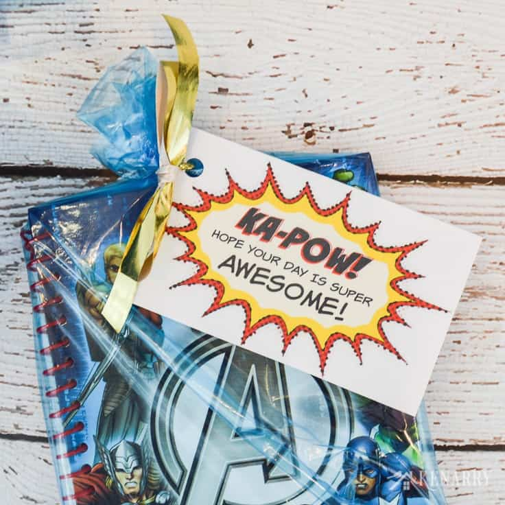 Avengers Party Favors Free Printable Birthday Treat Tags