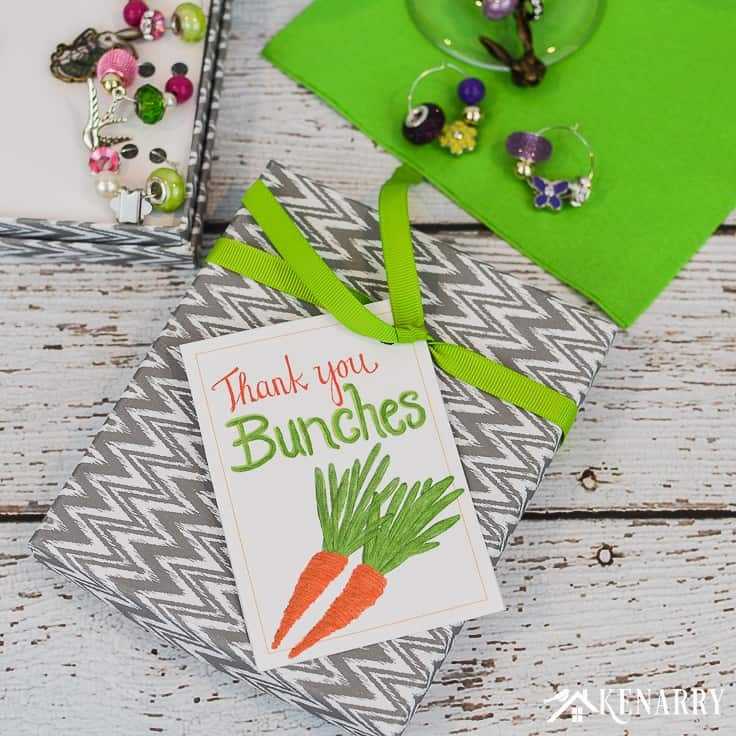 Spring Thank You Cards Free Printable Tags Kenarry
