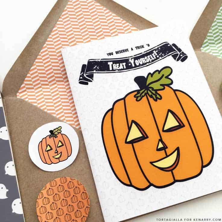 DIY Printable Halloween Cards Kenarry