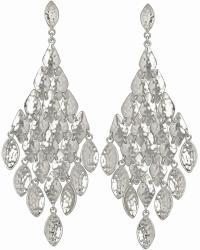 Nera Chandelier Earrings in Silver | Kendra Scott Jewelry