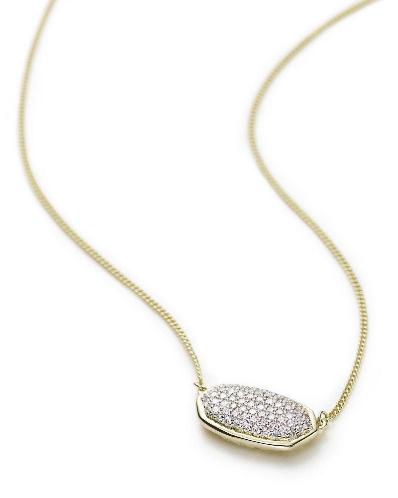 Large Of Diamond Pendant Necklace