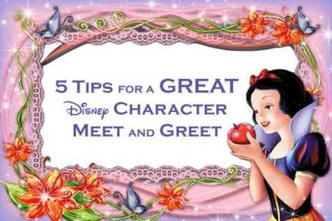 disney world character meet and greet tips for selling