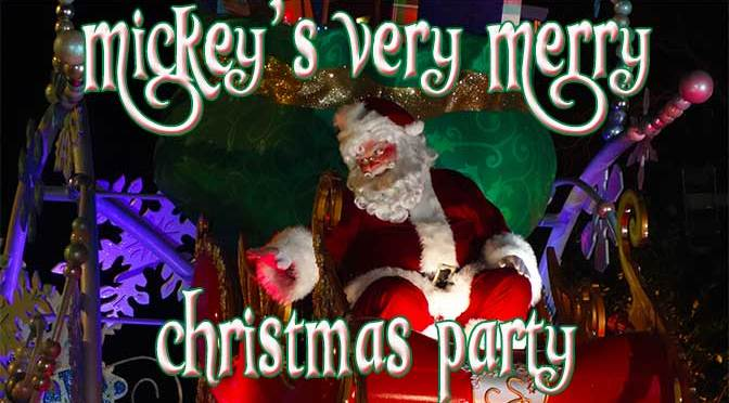 Mickey S Very Merry Christmas Party Guide Kennythepirate Com