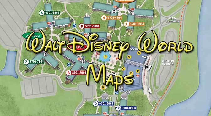 Disney World Maps - KennythePirate