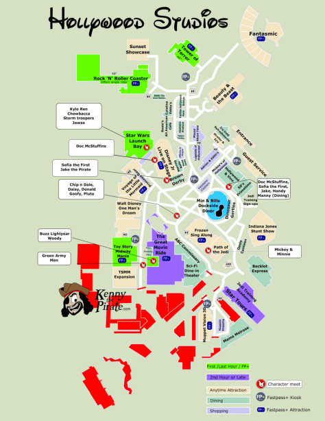 What will Hollywood Studios look like on April 3 2016