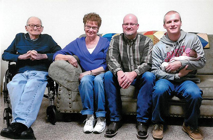 Five generations \u2013 Kenton Times - 5 generations