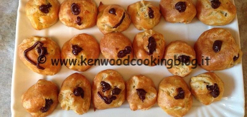 Ricetta crema al cioccolato per bignè Kenwood