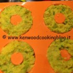 Ricetta sformatino di fiori di zucca e patate Kenwood