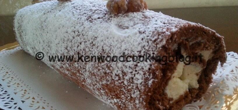 Ricetta rotolo al sapore di castagne Kenwood