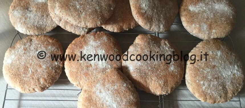 Ricetta pane arabo integrale con lievito madre o di birra Kenwood