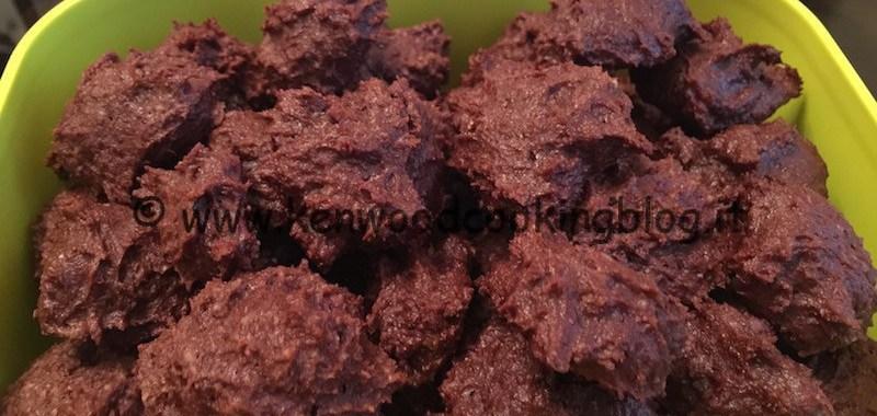 Ricetta biscotti ricotta e cioccolato Kenwood