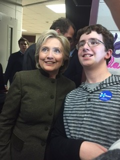 KMS Hosts Clinton Campaign