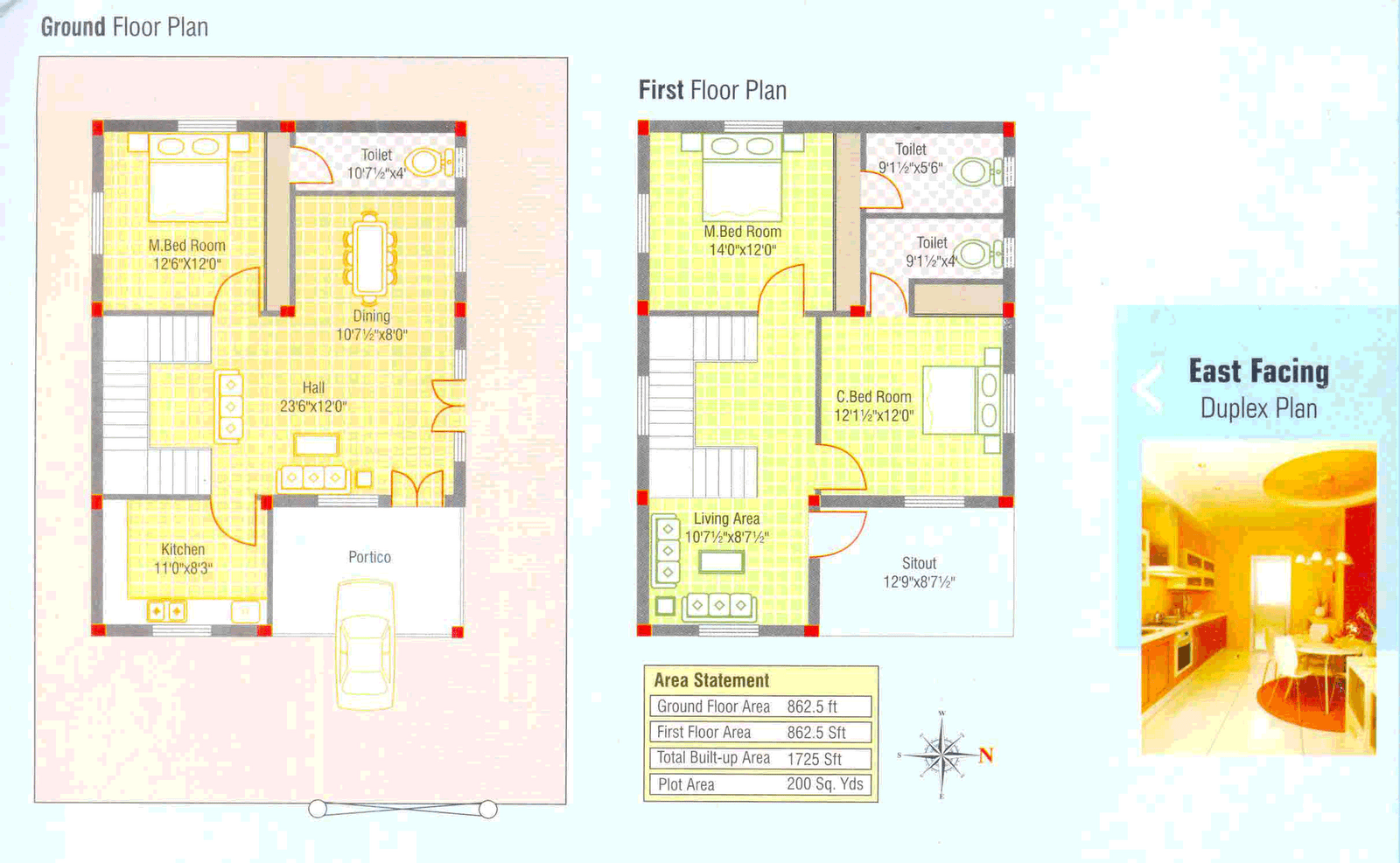 100 Small Duplex House Plans | 100 240 Yard Home Design ...