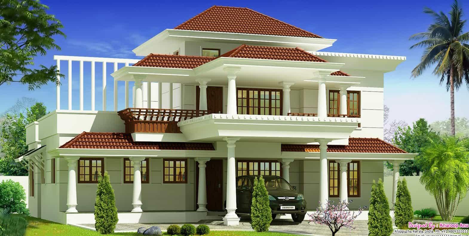 4bhk house plans keralahouseplanner