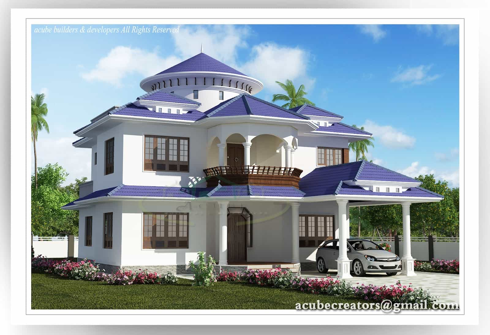 Small house floor plans kerala wood floors for Small home design in kerala
