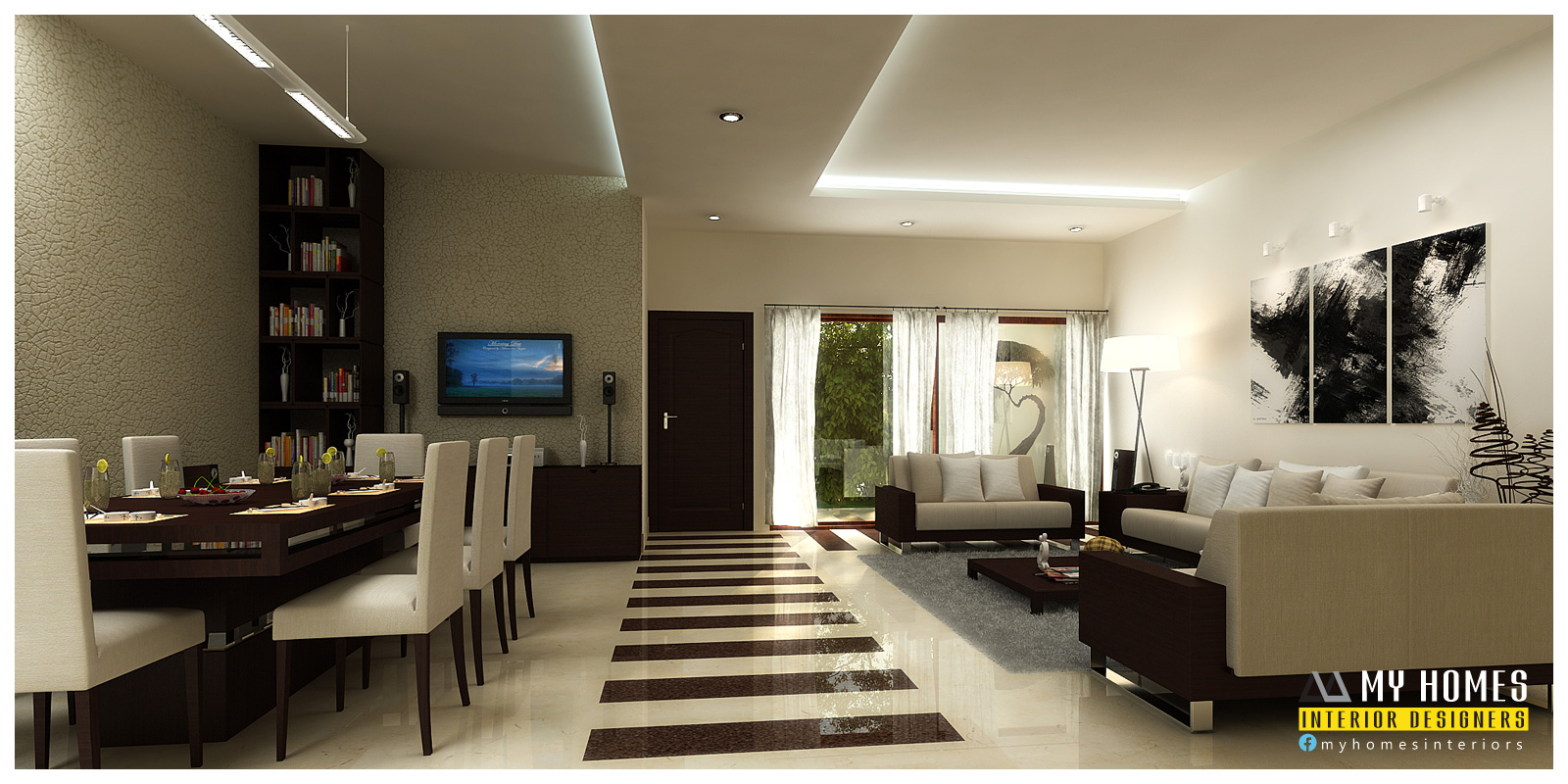 Living Room Interior Design Kerala Kerala Home Interior Photos | Latest  Gallery Photo