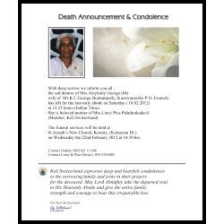 Luxurious Chairman President Secretary Treasurer We Deeply Regret To Announce Death Mr What To Say When Someone Young Passed Away What To Say When Someone S Dog Passed Away