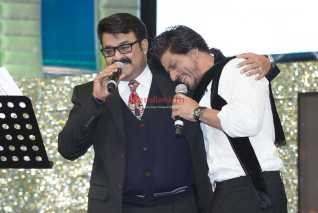 Mohanlal and SRK
