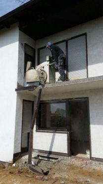 Balkon sägen