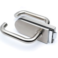 Stainless Steel Strike Box for Glass Door Lock & Latch ...