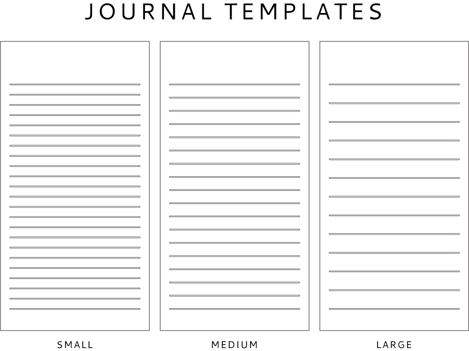 Journal Template Freebie + The Seeing the US of A For All Its