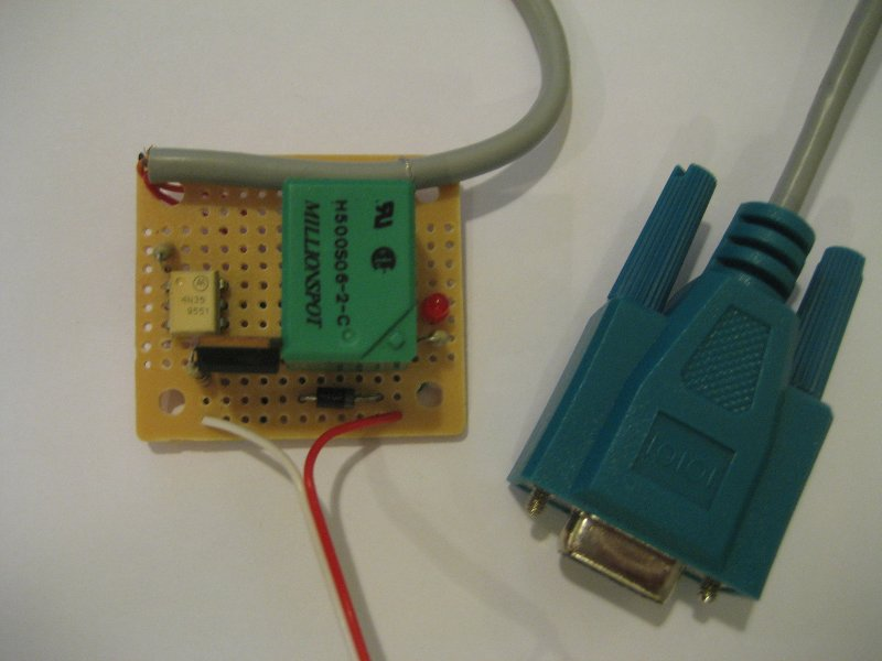 Kerry D Wong » Blog Archive » An Isolated MOSFET Serial Port Relay