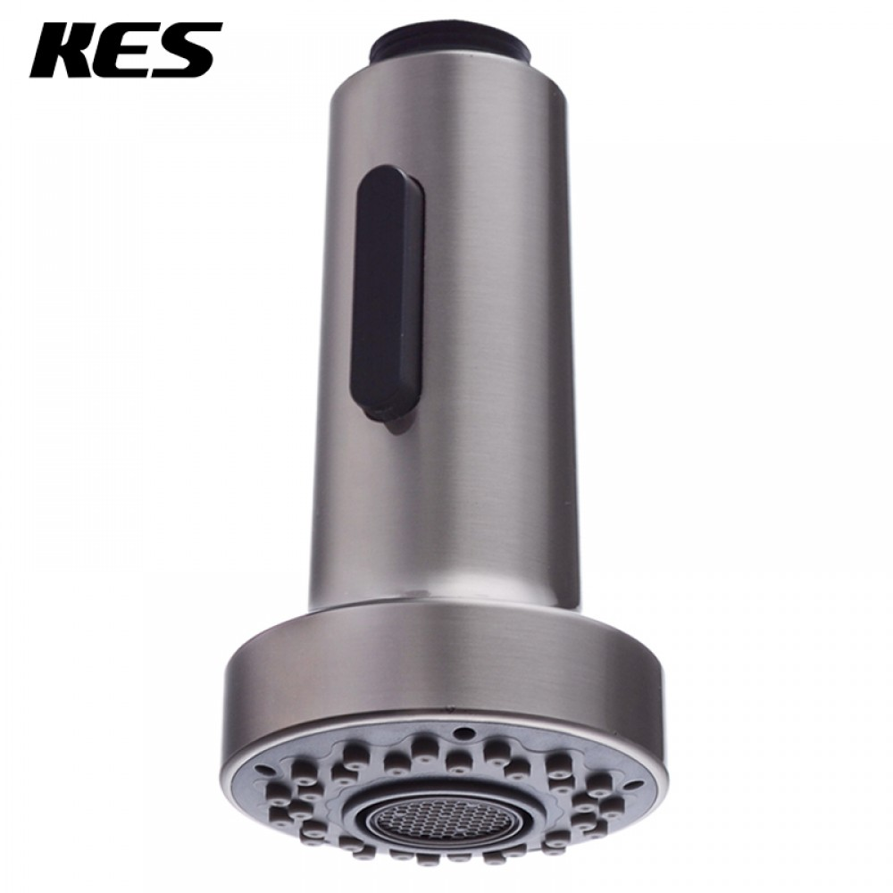 product&product id replacement kitchen faucet head KES Bathroom Kitchen Faucet Pull Out Spray Head 1 2 Inch IPS Universal Replacement Part Brushed Nickel