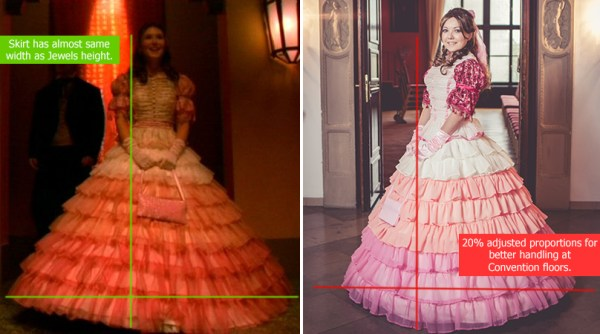 Kaylee Shindig dress Cosplay Proportion