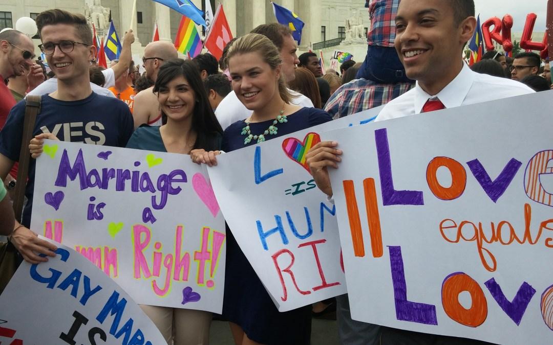 United States Supreme Court Legalizes Same-Sex Marriage