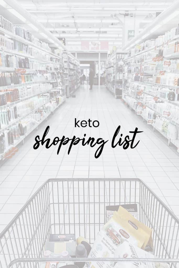 Keto Diet Shopping List Low-Carb Simplified - KetoConnect