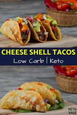 Small Of Cheese Taco Shells