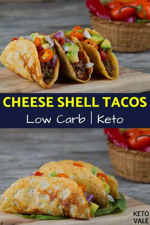 Medium Of Cheese Taco Shells