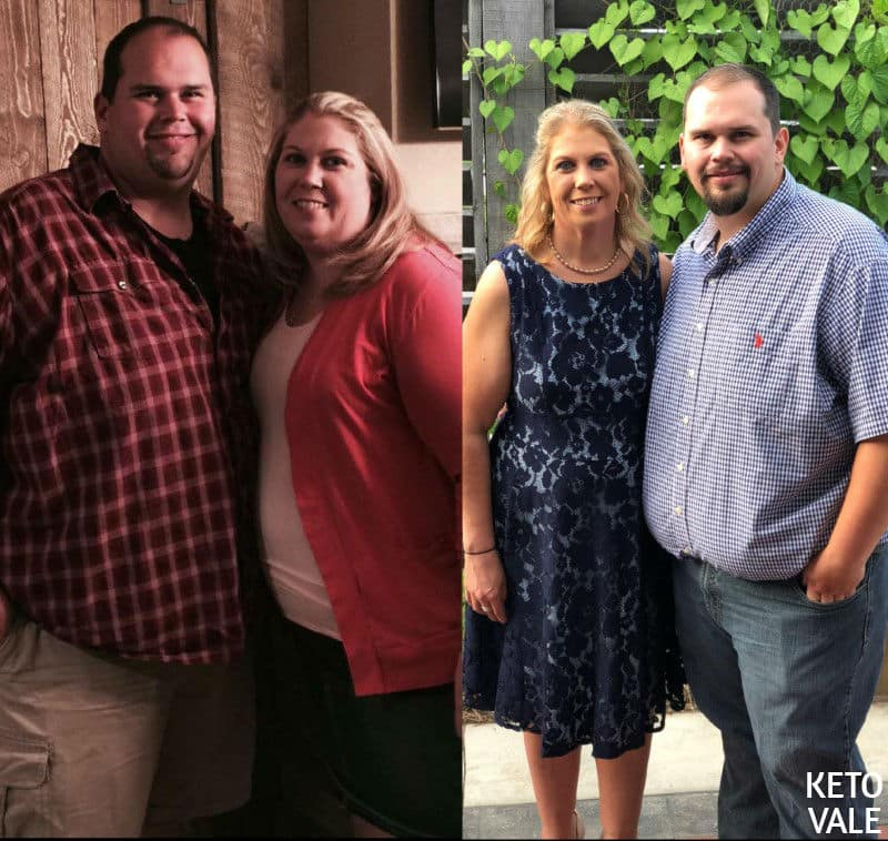 Here\u0027s How This Couple Lost 250lbs Combined In A Year on Keto Keto