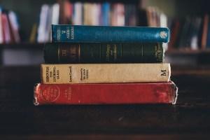 Books by Annie Spratt via Unsplash