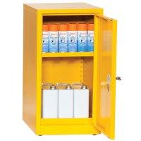 Flammable Storage Cabinet 900x459mm: COSHH Compliant | Key
