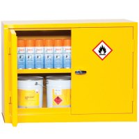 COSHH Flammable Material Storage Cabinets 700x915mm | Key