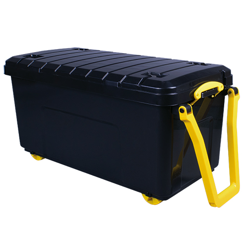 Large Really Useful Storage Box With Wheels 160l Key
