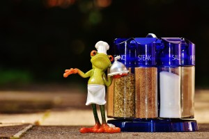 Marianne Page frog breakfast