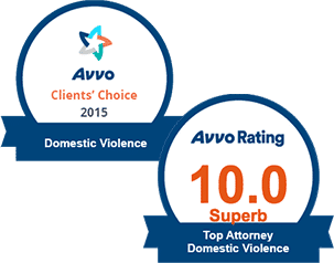 AVVO 10.0 Top Domestic Violence & Clients' Choice Domestic Violence