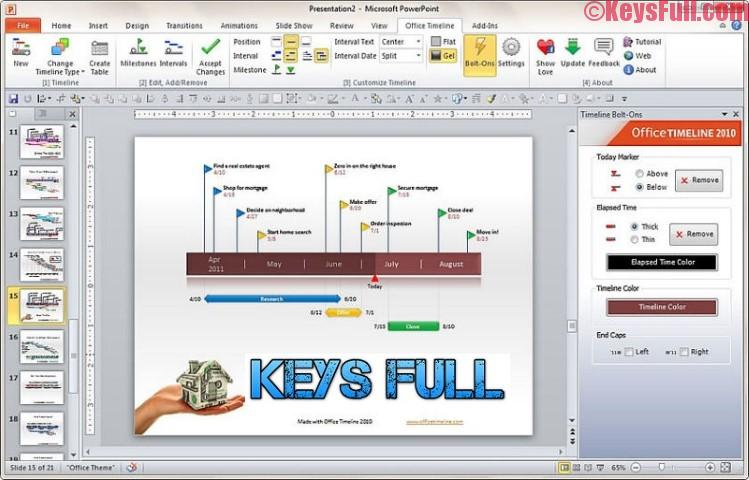 Office Timeline 3121 Product Key + Crack Full Free Download