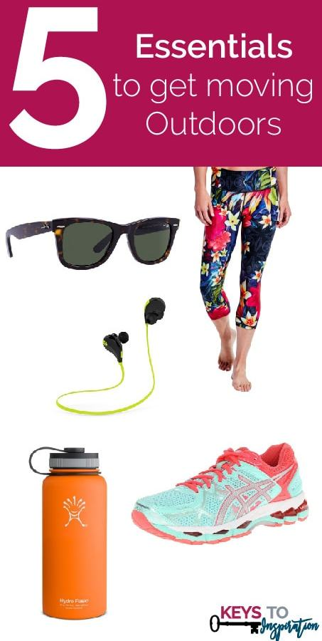 Friday 5 - Essentials to get moving Outdoors: 5 great products for outdoor workouts
