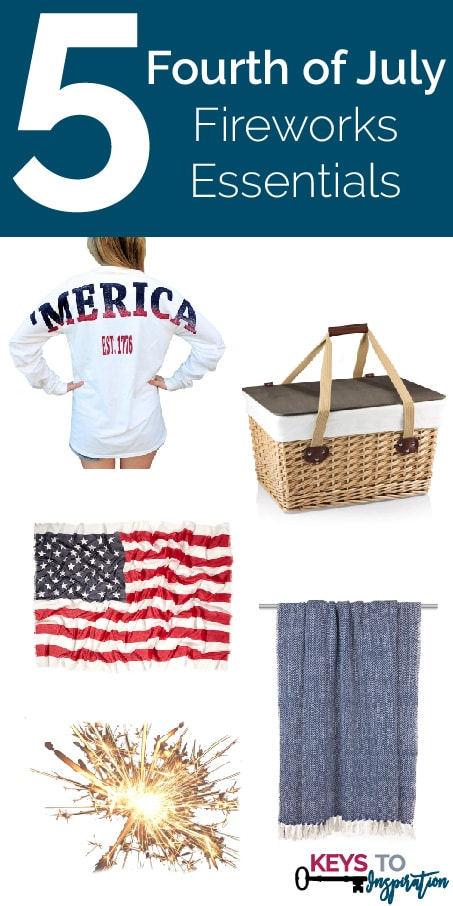 Friday 5 – Fourth of July Fireworks Essentials