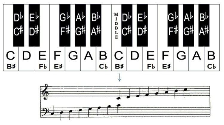 Learn the Notes on Piano Keyboard with this Helpful Piano Chart