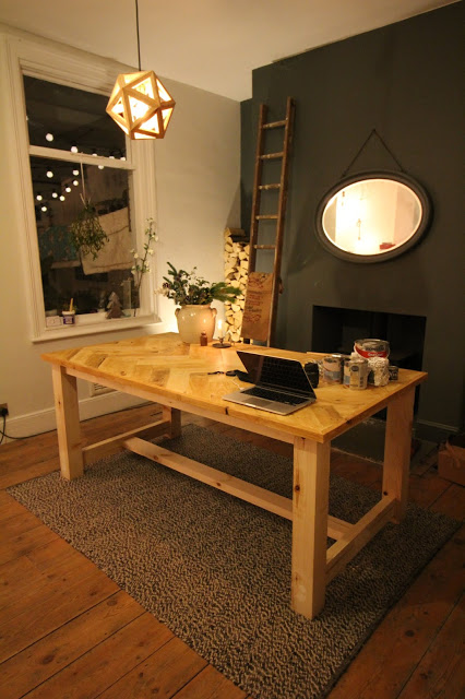 自己动手做Farmhouse Dining Table