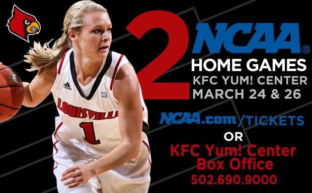 NCAA Women\u0027s Basketball First and Second Rounds KFC Yum! Center - ncaa home office