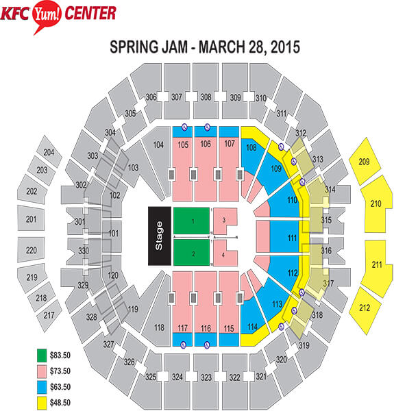 New summerfest seating chart american family insurance amphitheater