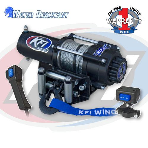 3000 LBS KFI ATV Winch - KFI ATV Winch, Mounts and Accessories